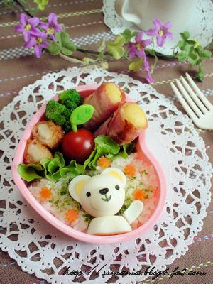 白クマchanのお弁当