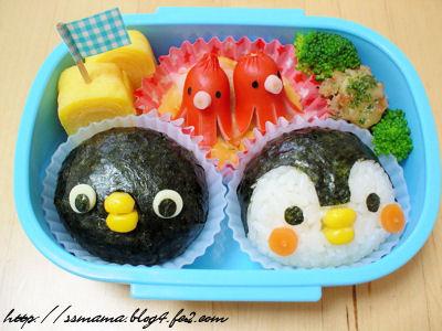 ペンギンのお弁当