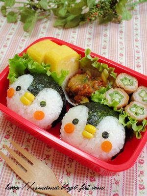 ペンギンくんのお弁当