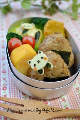 豆パンダちゃんのお弁当