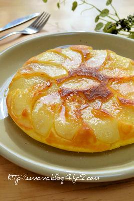 りんごのパンケーキ
