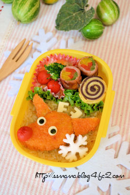 クリスマス*トナカイくんのお弁当