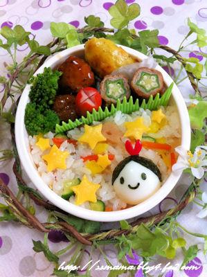 七夕*織姫さまのお弁当