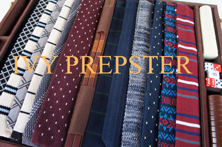 IVY PREPSTER TIE LAY DOWN