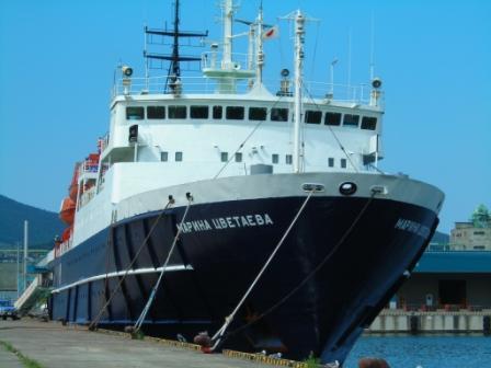 ロシア船1