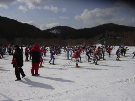 スキーマラソン