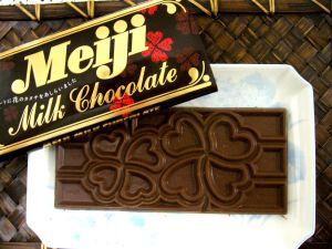 お花のチョコレート