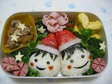 お友達とクリスマス弁当
