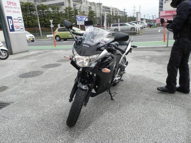 CBR250R試乗