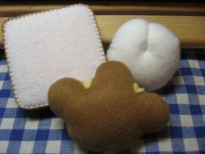 食パン・白パン・クリームパン