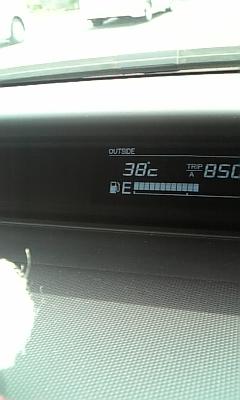 38℃だってさ。