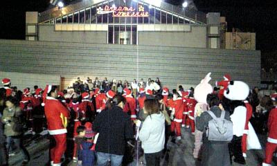 サンタの集会。