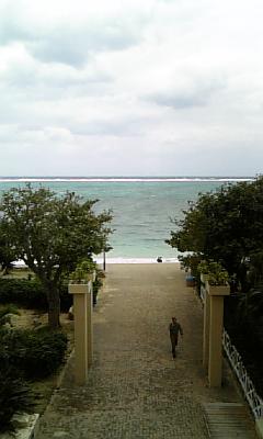 二日目の海。
