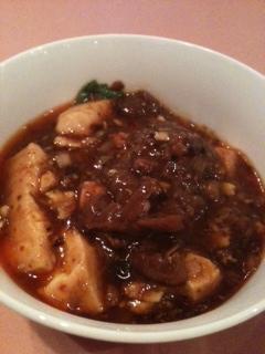 蔭山楼 マーボー豆腐2