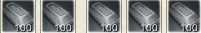 鉄のインゴット500