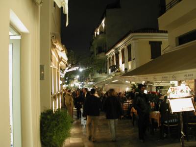 アテネの夜