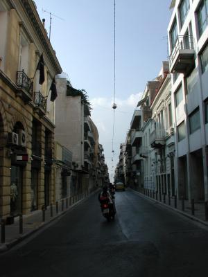 アテネの街並み