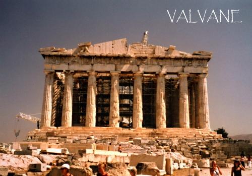 ギリシャ、アクロポリスの丘とパルテノン神殿