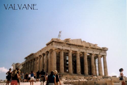 ギリシャ、アテネのパルテノン神殿