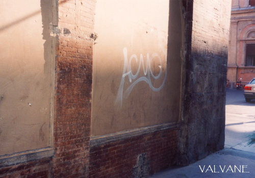 イタリア、ボローニャの街角アート
