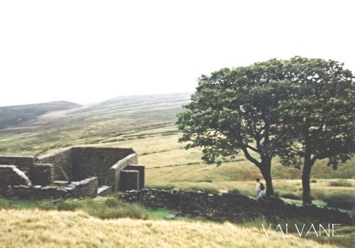 イギリス、「嵐が丘」の屋敷跡