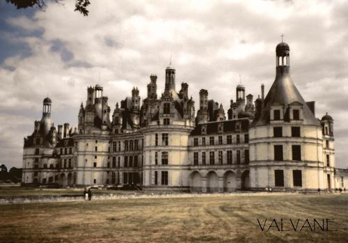 フランス、悠然と構えるシャンボール城