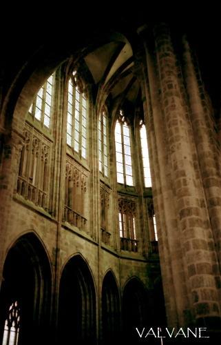 フランス、モン・サン・ミシェルの礼拝堂
