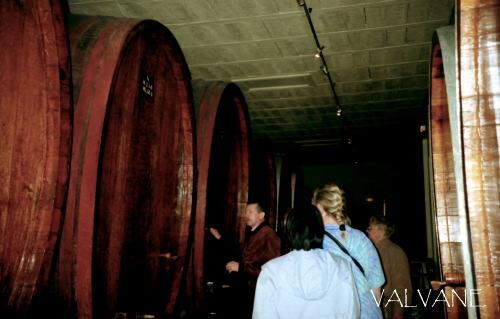 フランス、アルザス地方のワイン樽
