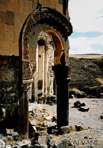 トルコ、アニ遺跡の教会
