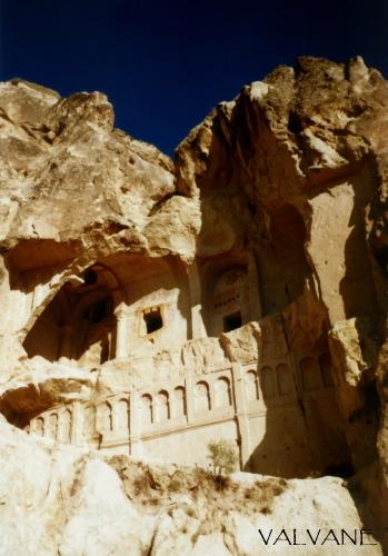 トルコ、ギョレメ国立公園の洞窟教会