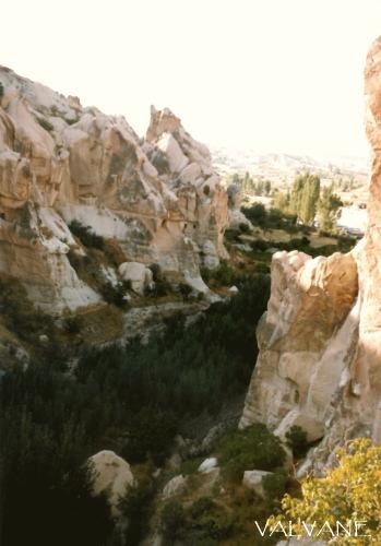 トルコ、カッパドキアの鳩の谷