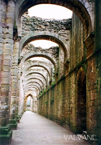 イギリス、自然と時が彩るファウンティンズ修道院