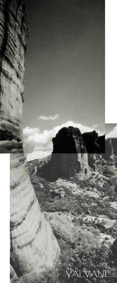 ギリシャ、メテオラの奇岩