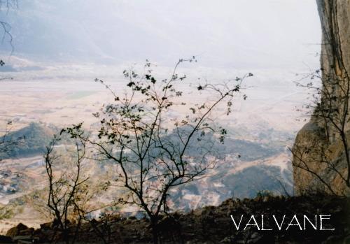 ギリシャ、隠遁所跡から見る風景
