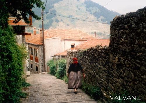 ギリシャ、村の日常