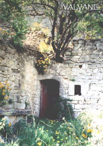 フランス、畑の物置小屋