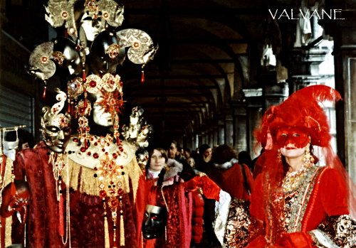 イタリア、ヴェネチアのカーニバル