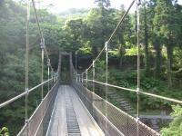 鮎もどし自然公園-吊り橋