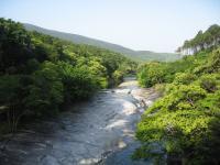 鮎もどし自然公園-川の景観