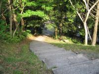 鮎もどし自然公園-遊歩道へ