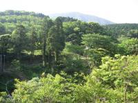 鮎もどし自然公園-休憩所から臨む