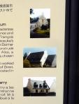 案内板のブルターニュ地方の住宅