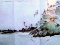 燈明堂周辺を描いた絵図