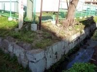 残されている石垣