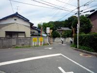 サイクリングロード入口