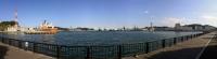 港湾風景パノラマ写真