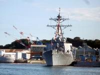 米海軍イージス艦「ジョン・S・マッケイン」