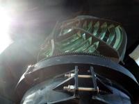 観音崎灯台の発光器