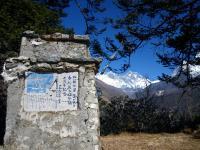 エベレストの墓標