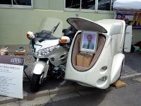 霊柩バイク